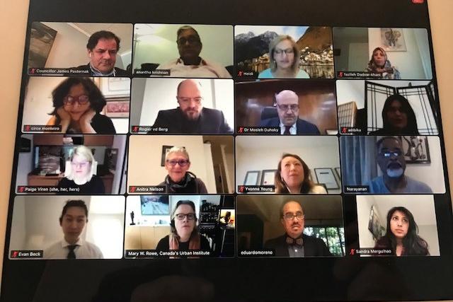 Urban Economy Forum Steering Committe 2021